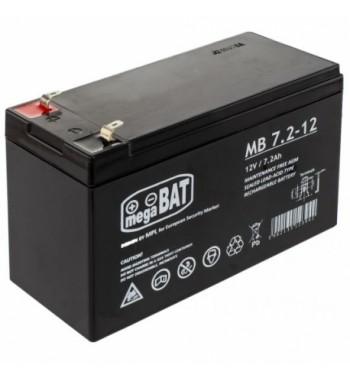 Akumulator do dozownika 12V 7,2Ah Faston 18 z ładowarką 12V AKU-D