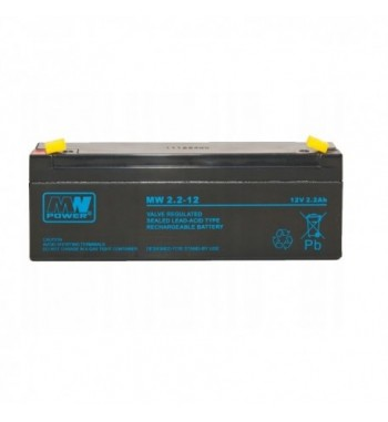 Akumulator żelowy do dozownika MW Power 12V 2,2Ah UPS Pb żel AKU-DOZ Ż